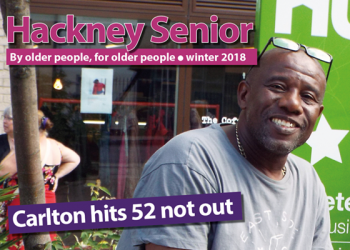 Hackney Senior – winter 2018 issue out now!