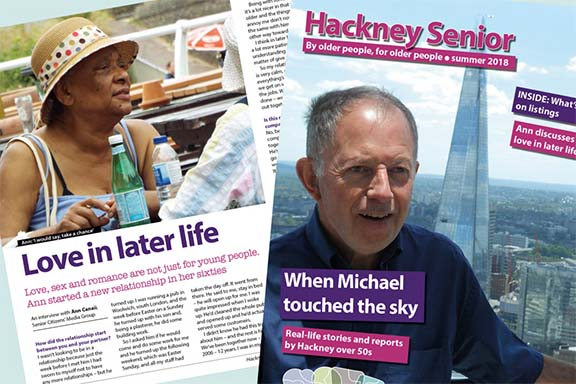 Autumn issue of Hackney Senior – out now!