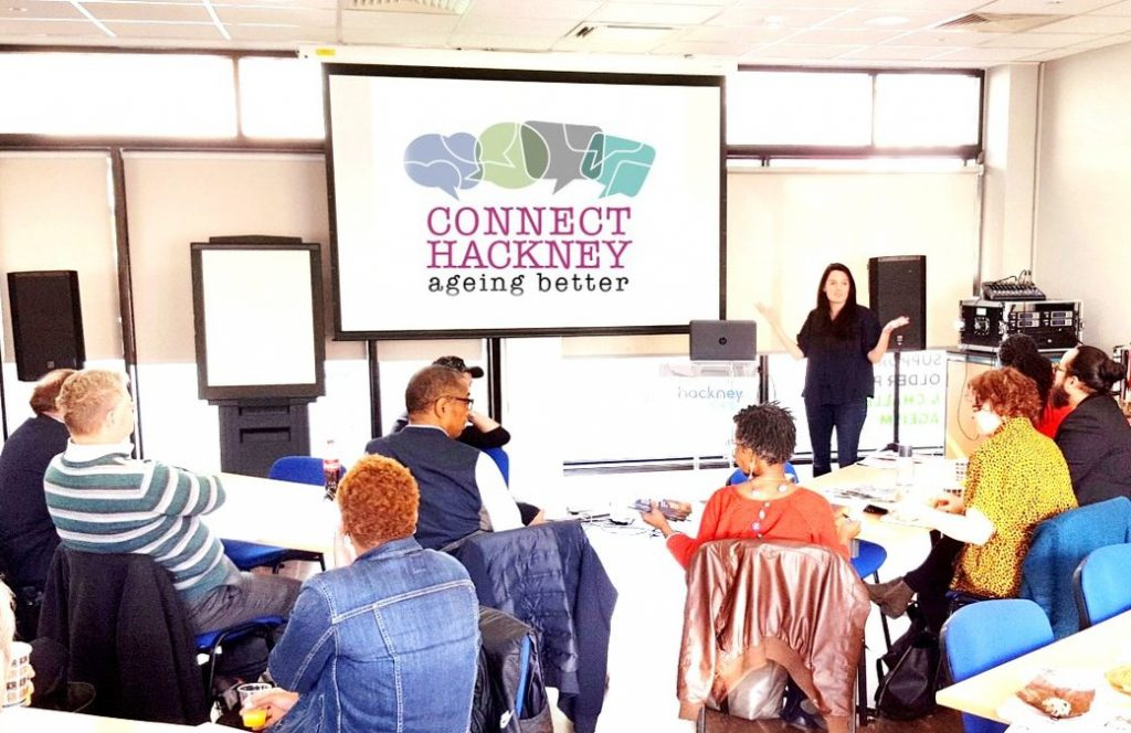 Some of the Connect Hackney activities on offer