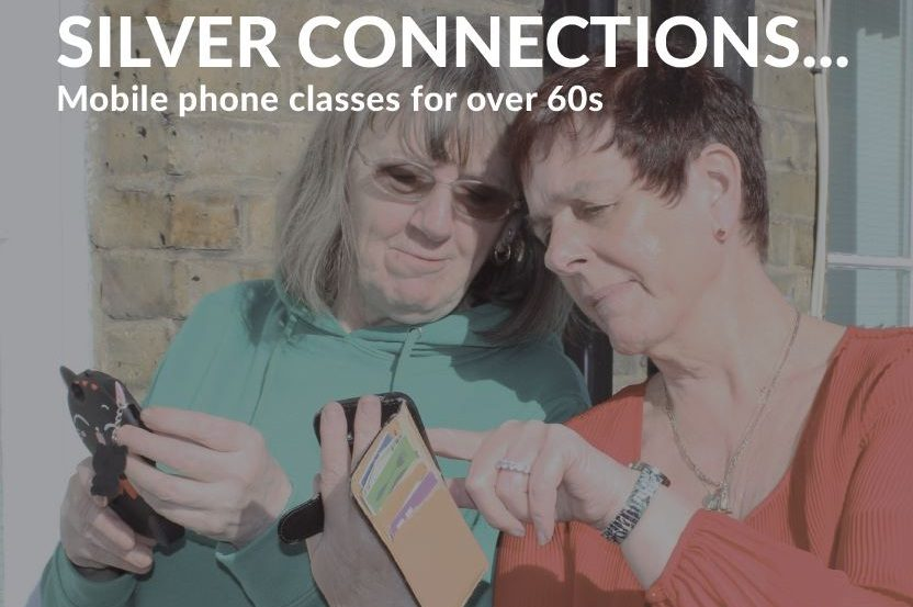 Mobile phone classes for over 60s