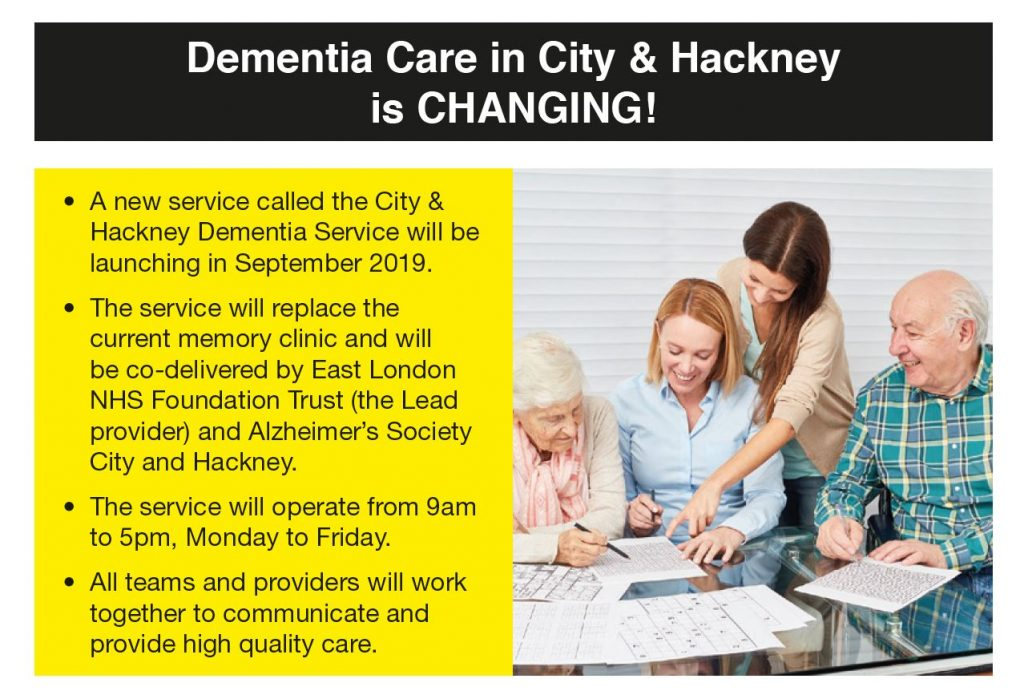 New dementia service coming soon