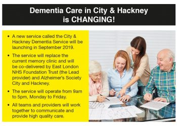 New dementia service coming soon