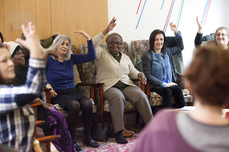 Fun fitness class is a hit with Hackney older residents