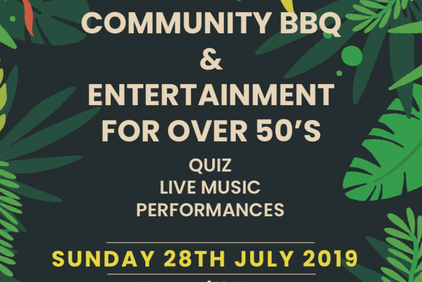 Community BBQ for over 50s