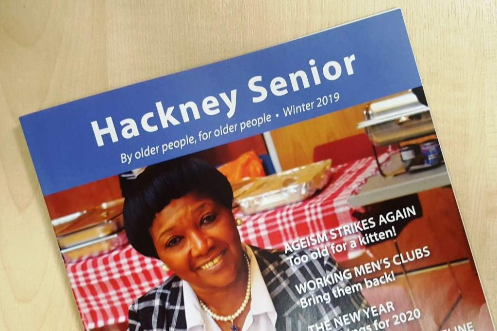 Winter 2019 issue of Hackney Senior out now!
