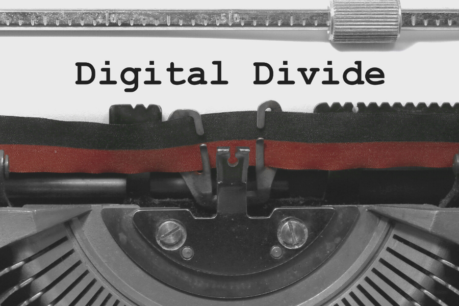 Digital divide narrows but many remain offline